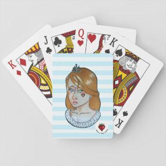 Jogo De Baralho Princesa dos áss - cartões de jogo clássicos