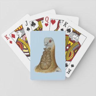 Jogo De Baralho Retrato Valencian do pombo de Figurita