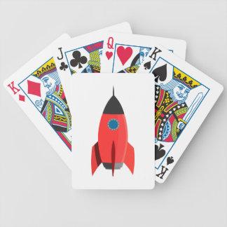 Jogo De Baralho Rocket vermelho