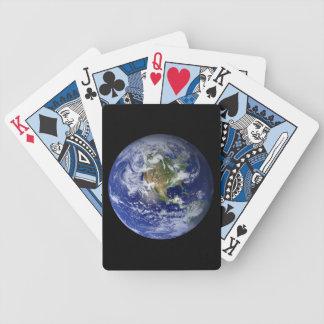 Jogo De Baralho Terra azul do planeta