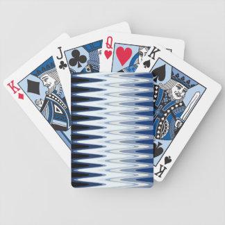 Jogo De Baralho Teste padrão bege cinzento branco azul do