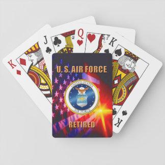 Jogo De Baralho U.S. Cartões de jogo clássicos da força aérea