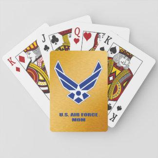 Jogo De Baralho U.S. Cartões de jogo clássicos da mamã da força