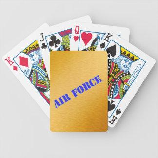 Jogo De Baralho U.S. Cartões de jogo da bicicleta da força aérea