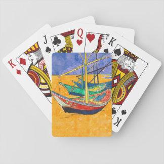 Jogo De Baralho Van Gogh que pinta barcos famosos