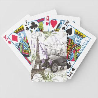 Jogo De Baralho Vintage Paris