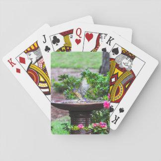 Jogo De Carta 030 cartões de jogo do banho do Bluebird