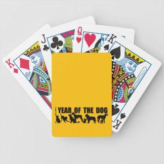 Jogo De Carta 2018 anos novos chineses dos cartões de jogo do