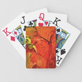 Jogo De Carta #3 de pintura acrílico