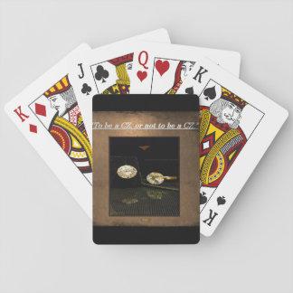 Jogo De Carta 5o Citações; Para ser uma CZ, ou não ser uma CZ