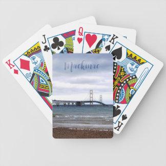 Jogo De Carta A ponte de Mackinac