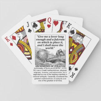 Jogo De Carta Alavanca de Archimedes