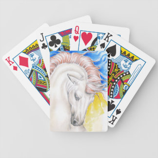 Jogo De Carta Arte da aguarela do cavalo