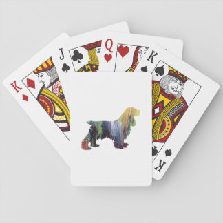 Jogo De Carta Arte de cocker spaniel