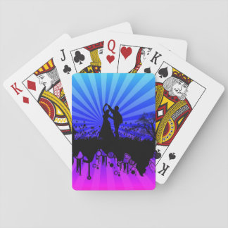 Jogo De Carta Arte romântica: Plataforma de cartões