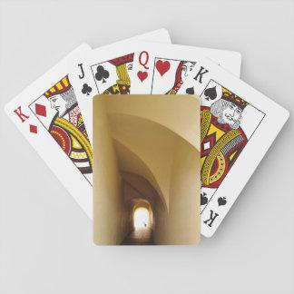 Jogo De Carta através do túnel