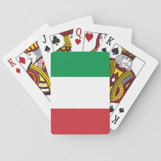 Jogo De Carta Bandeira nacional do mundo de Italia