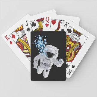 Jogo De Carta Bolhas na plataforma de cartão do jogo do espaço