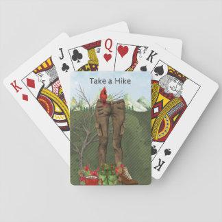 Jogo De Carta Caminhando cartões de jogo