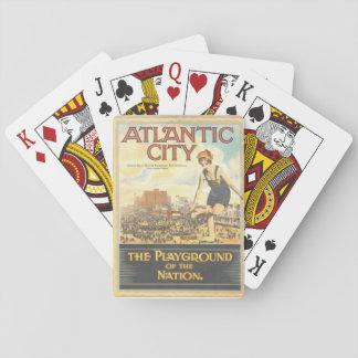"""Jogo De Carta """"Campo de jogos atlântico da Cidade- da nação """""""