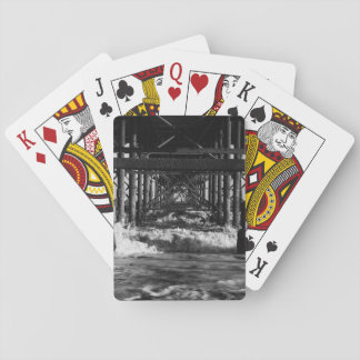 Jogo De Carta Cartão de jogo do cais