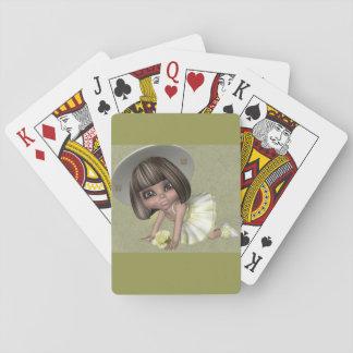 Jogo De Carta Cartão de jogo pequeno de Sally