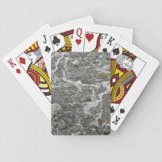 Jogo De Carta Cartões calmos do padrão da costa
