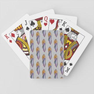 Jogo De Carta Cartões de jogo, calçados do vintage