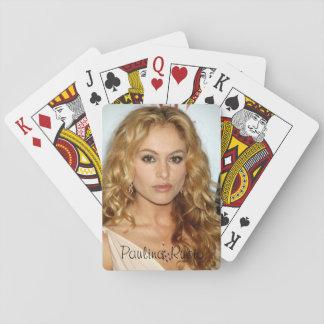Jogo De Carta Cartões de jogo clássicos de Paulina Rubio