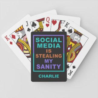 """Jogo De Carta """"Cartões de jogo conhecidos feitos sob encomenda"""