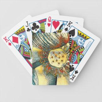 Jogo De Carta Cartões de jogo da flor de Lotus