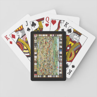 Jogo De Carta Cartões de jogo da lembrança do mapa do vinho do