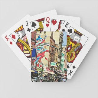 Jogo De Carta Cartões de jogo da Nova Iorque de Chinatown