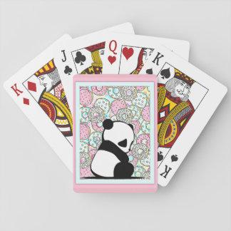 Jogo De Carta Cartões de jogo da panda