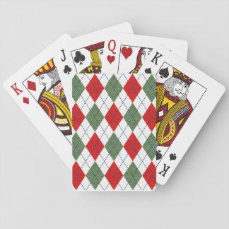 Jogo De Carta Cartões de jogo de Argyle