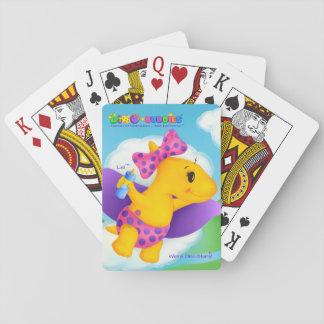 Jogo De Carta Cartões de jogo de Dino-Buddies® - Lisi™ o amigo