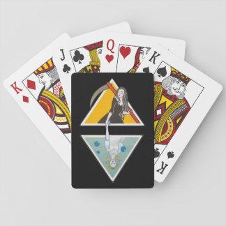 Jogo De Carta Cartões de jogo de Lupe & de Delia