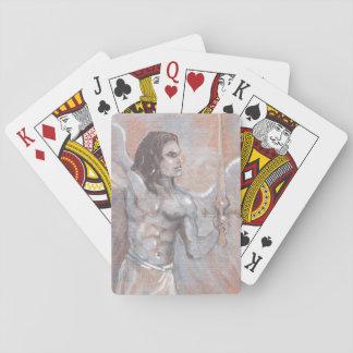 Jogo De Carta Cartões de jogo de Michael do arcanjo