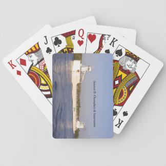 Jogo De Carta Cartões de jogo de Samuel D. Champlain & de