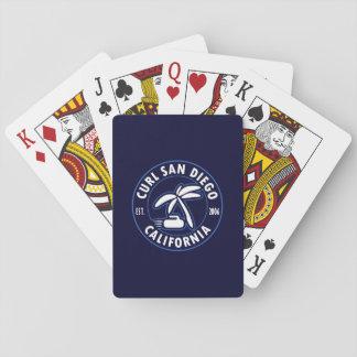 Jogo De Carta Cartões de jogo de San Diego da onda