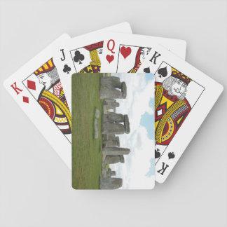 Jogo De Carta Cartões de jogo de Stonehenge