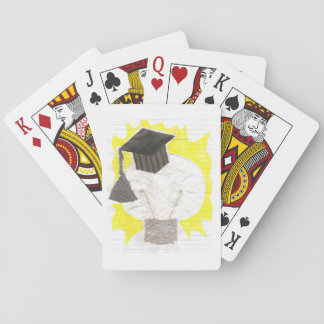 Jogo De Carta Cartões de jogo do bulbo do formando