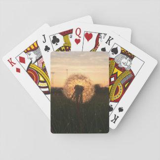 Jogo De Carta Cartões de jogo do dente-de-leão