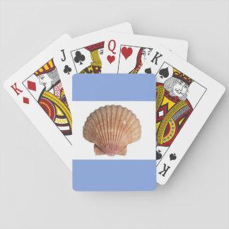 Jogo De Carta cartões de jogo do escudo do mar