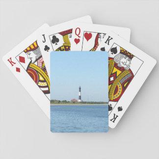 Jogo De Carta Cartões de jogo do farol da ilha do fogo
