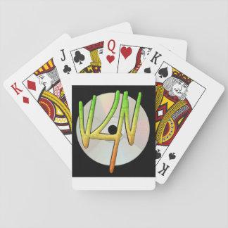 Jogo De Carta Cartões de jogo do logotipo de Verse4Verse