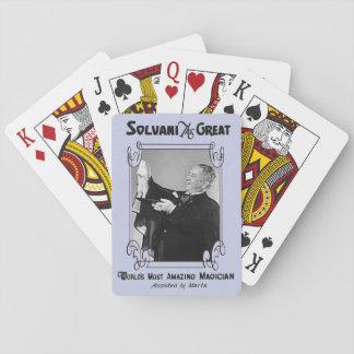 Jogo De Carta Cartões de jogo do mágico