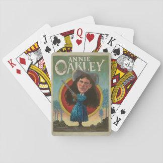 Jogo De Carta Cartões de jogo do vintage de Annie Oakley