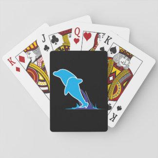 Jogo De Carta Cartões de jogo dobro do golfinho