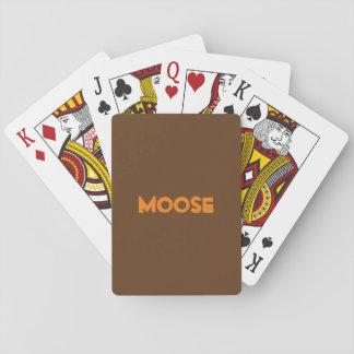 Jogo De Carta Cartões de jogo dos alces